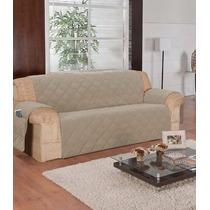 4 Protetores 1 P/sofá 3 Lugares E 3 Poltrona Santos Caqui
