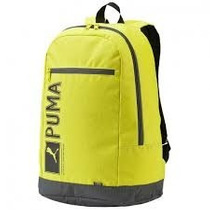 Mochila Escolar Puma Pioneer Back Pack Verde