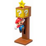 Super Mario Com Bloco Coleção Mcdonalds Mclanche Feliz 2016