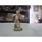 Estatueta De Resina - Menina Tocando Violino