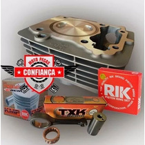 Kit Competição Titan/fan-nxr Bros-150 P/220cc C/pistão 70mm