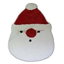 Decoración Día De Fiesta De Santa Claus Baño Alfombra (20