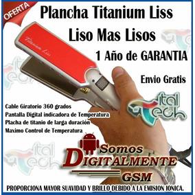 Plancha Titanium Liss Liso Mas Lisos Envio Gratis