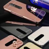 Case Aluminio Espejo Motorola Moto G2/ G3/ G4 Plus Cromado