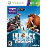 Jogo Ice Age Continental Drift Artic Kinect Era Gelo Xbox360
