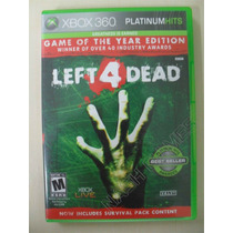 Left 4 Dead - Goty Completo - Original Xbox 360 Ntsc