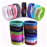 Kit 50 Relógio Pulseira Nike Digital Led Pulseira Bracelete