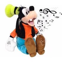 Pelucia Pateta Musical Turma Do Mickey