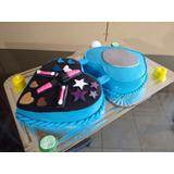 Torta Decoración Cumpleaños Spa Niñas +fiestas +infantiles