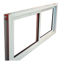 Ventana Abertura Aluminio Vidrio 4mm Blanco Fabrica 150x60