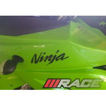 Par De Adesivos Ninja -p/ Carenagem-moto-ninja 250r-kawasaki