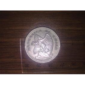 Moneda De Un Peso Chileno Año 1933 Inmaculada