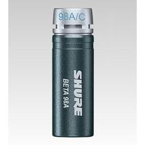 Microfone Miniatura Shure Para Sopro E Percussão - Beta98a/c