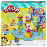 Play-doh Cupcake Celebration B1855 Set Masa Educando
