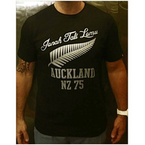 Remera All Blacks Lomu Tribute Rugby