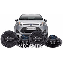 Kit 4 Alto Falantes Quadria P/ Fiesta 320wrms Mega Potente