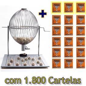 Combo: Bingo Nº 3 Completo + 1.500 Cartelas + 400 Cartelas