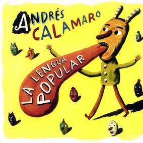 La Lengua Popular Andres Calamaro Vinilo Lp Incluye Cd