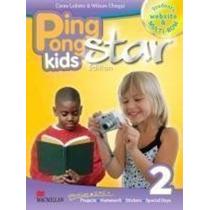 Livro Ping Pong Kids Star Edition 2 Ceres Lobeto E Outro