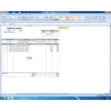 Hoja De ( Facturación ) ( Nota De Entrega ) Excel