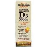 Sundown Naturals D3 5000 Ui Líquido Sabor A Naranja De 2 Onz