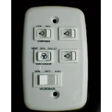 Contr. Para Vent. De Teto Com Capac. 110v E 3 Interruptores