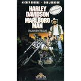 Vhs - Harley Davidson E Marlboro Man Caçada Sem Tréguas - Mi