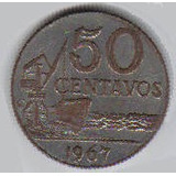 Cr$ 0,50 - 1.967 - Falsa De Londrina -