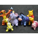 07 Boneco Urso Pooh Puff Tigrão Abel Bolo Festa Aniversario