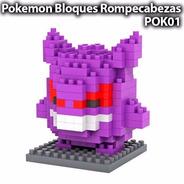 Gengar Pokemon Lego Mini Blocks Rompecabezas Armable