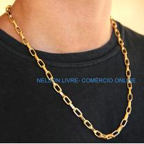 Conj Cordão + Pulseira Banhados A Ouro 18k - Super Promoção