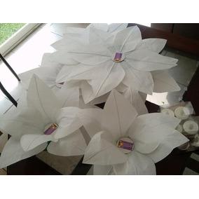 Flores Flotantes 36x36cm Con Vela Led