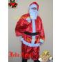 Roupa Fantasia De Papai Noel Adulto Grandes Medidas Até 64
