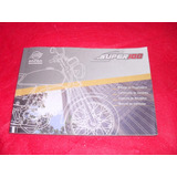 Moto Dafra Super 100 Manual Do Proprietario Original