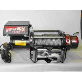Guincho Eletrico Off Road Work 12000 New, 5400kgf, 12 Volts