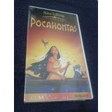 Vhs Disney Pocahontas Dublado Original Lacrado