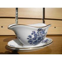 Salsera Alemana Sellada Porcelana Bavaria H&c Henrich C/pres