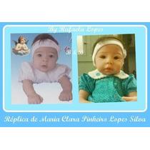 Réplica Bebê Reborn Através De Foto
