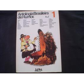 Antologia Brasileira De Humor Vol 1 - 1976 - 255 Paginas