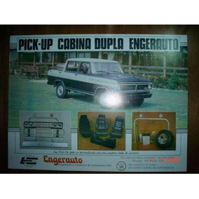Folder Ford F1000 Engerauto Pickup Caminhonete Cabine Dupla
