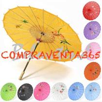 Sombrilla China Paraguas Grande Souvenir Boda Casamiento 15