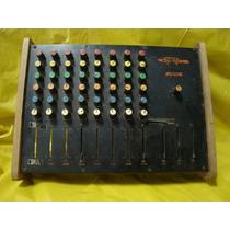 Mesa De Som 8 Canais - Spalla - C/ Defeito - Mod.800s -