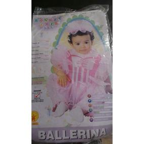 Disfraz De Bailarina Tipo Babero Talla 0 - 9 Meses