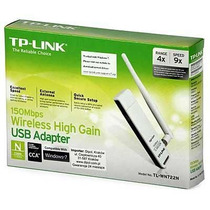Adaptador Wireless Tplink Usb Tl-wn722n 150mbps