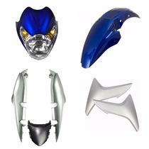 Kit Titan150 Mix Azul 09 - Com Farol - (sem Complemento)