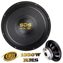 Subwoofer Eros 15 Pol. Sds 2.7k - 1350w Rms B. S. 4 Ohms