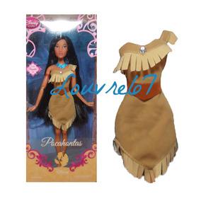 Vestido De Muneca Disney Princesa Pocahontas Ropa Louvre67