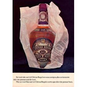 2982- Placa Decorativa Bebida Whisky Chivas Regal