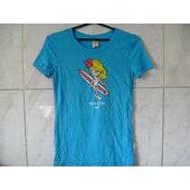 Camiseta Tipo Blusa Hollister Tamanho M-g 62cm X 40cm X 38cm