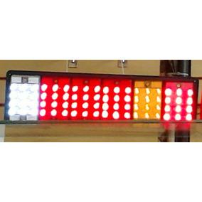 Lanterna Traseira De Led Caminhão Jeep Carreta 12v 24v